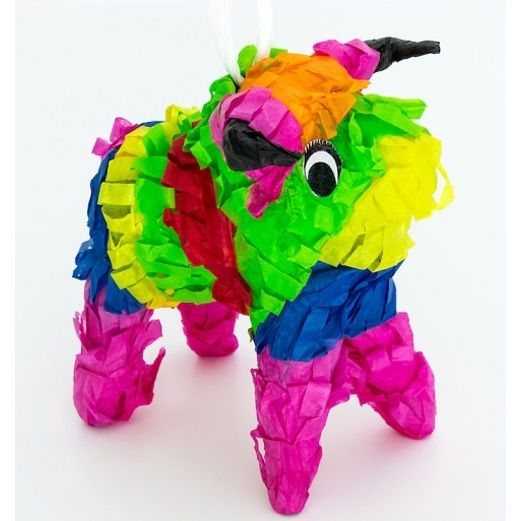 Cinco de Mayo Decorations Small Fiesta Bull Pinata Image